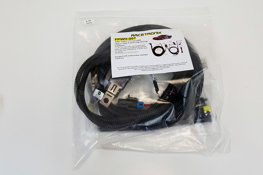 C6 Fuel Pump Hotwire Harness Racetronix Fuel Pump Wire Harness on